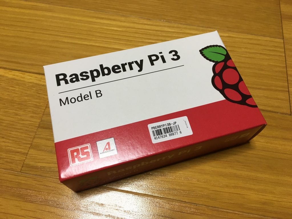 日本製のRaspberry Pi3