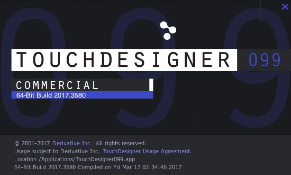 TouchDesigner099-Build3580
