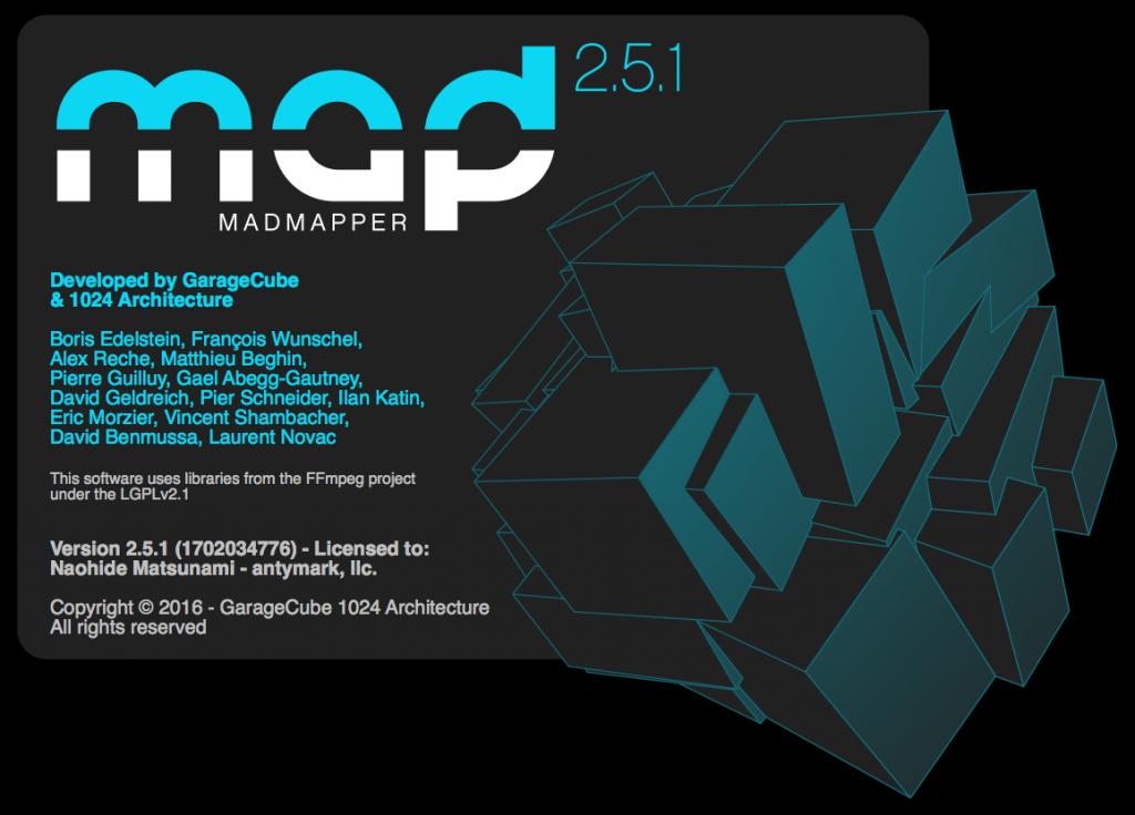 MadMapper2.5.1