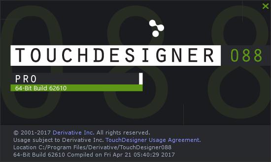 TouchDesigner088 62610
