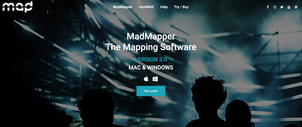 MadMapper3.0
