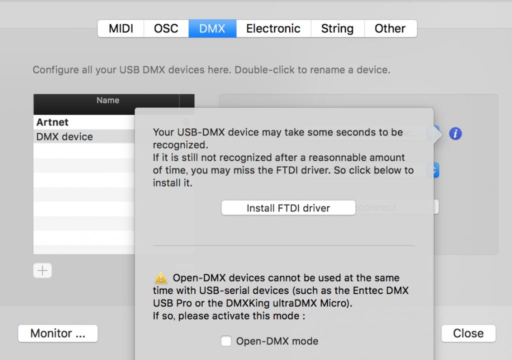 FTDI-Driver