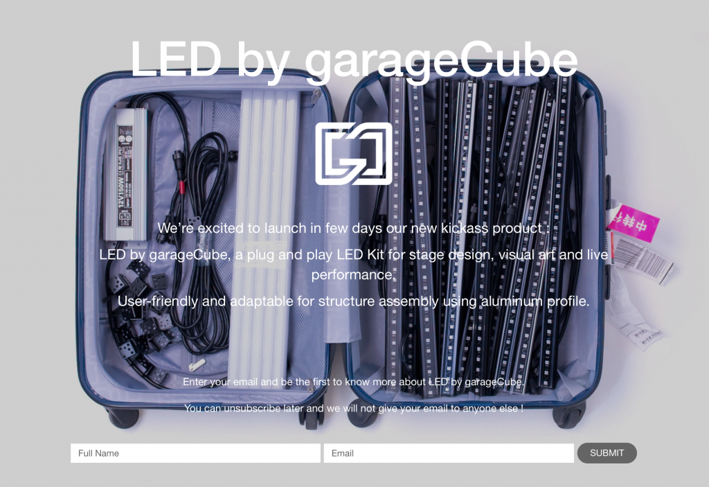 LED by garageCube