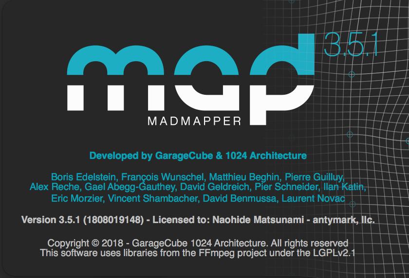 MadMapper3.5.1
